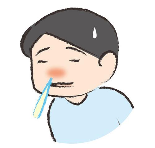 くしゃみと鼻水が主なタイプ
