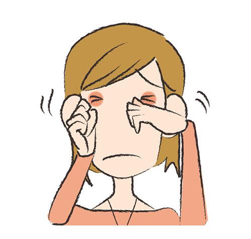 粘膜にかゆみや痛みを伴うタイプ